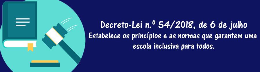 Decreto-Lei n.º 54/2018